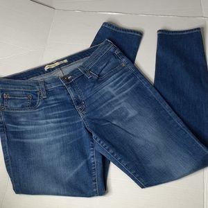 Big Star 30 Alex Skinny Women's Blue Jeans